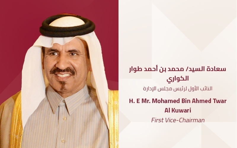 H. E Mr. Mohamed Bin Ahmed Twar Al Kuwari | First Vice-Chairman