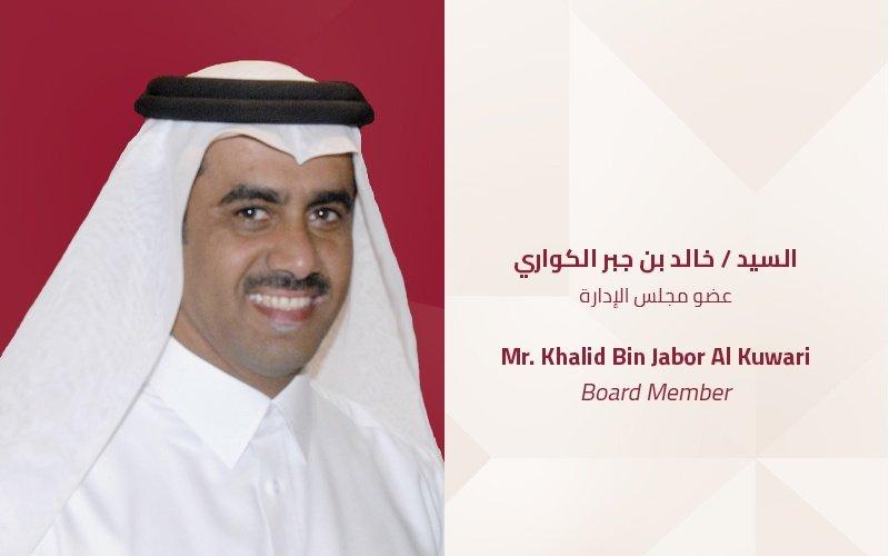 Mr. Khalid Bin Jabor Al Kuwari | Board Member