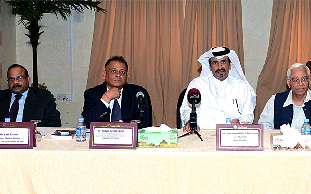 Qatar Chamber discuss trade ties with Indian team