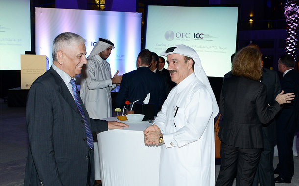 QFC displays new branding, logo at networking event