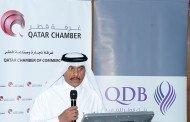 Qatar Chamber, QDB discuss SMEs Definition