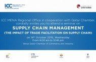 QC seeks impact of international trade treaties on supply chains