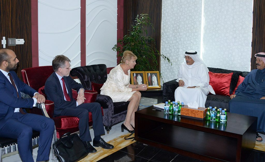 QC receives Swedish business delegation