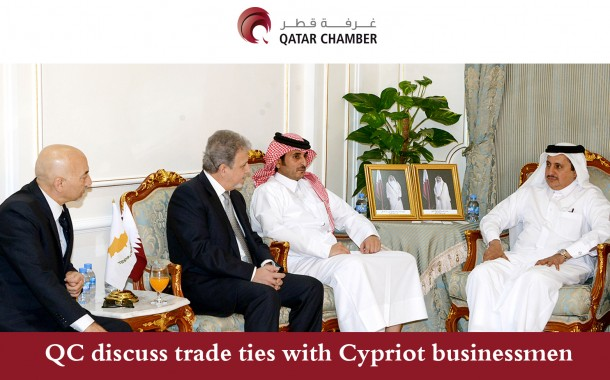 QC discuss trade ties with Cypriot businessmen