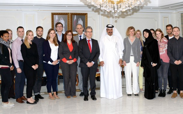 QC Vice-Chairman Meets German Team