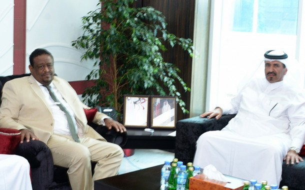 QC and Sudanese Chamber officials meet