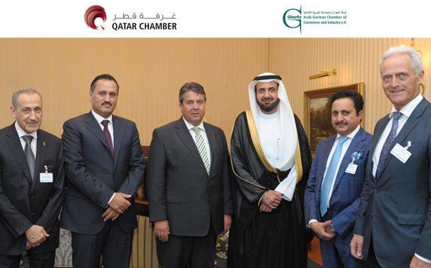 QC takes part in Arab-German Business Forum