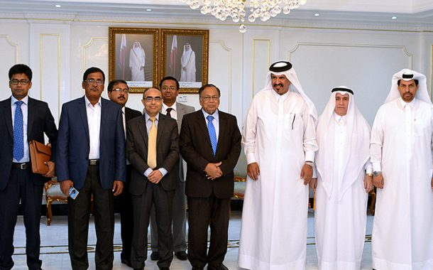 QC Vice Chairman meets Bangladesh's Foreign Minister
