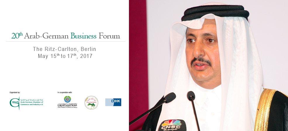 Qatar Chamber Participates in 20th Arab-German Business Forum