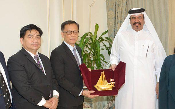 Qatar Chamber hosts Filipino business delegation