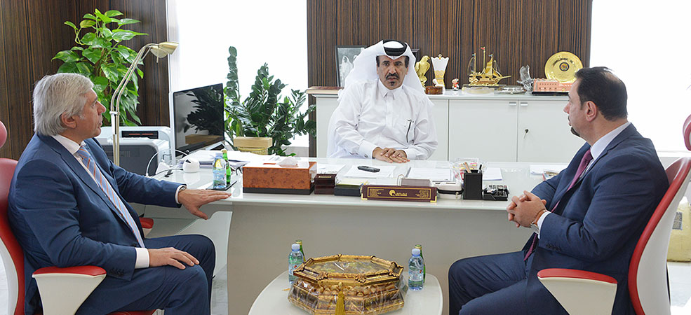 QC, Qatari-Russian Business Council look to boost ties