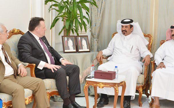 QC, WECP delegation discuss cooperation