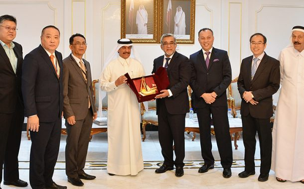 Qatar Chamber Discusses Joint Cooperation with Trade Delegations from Malaysia