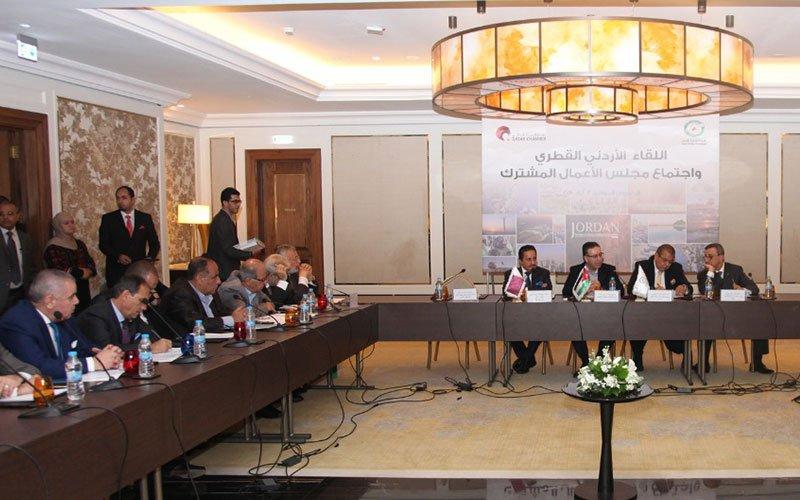 Qatari-Jordanian-Economic-Meeting-002