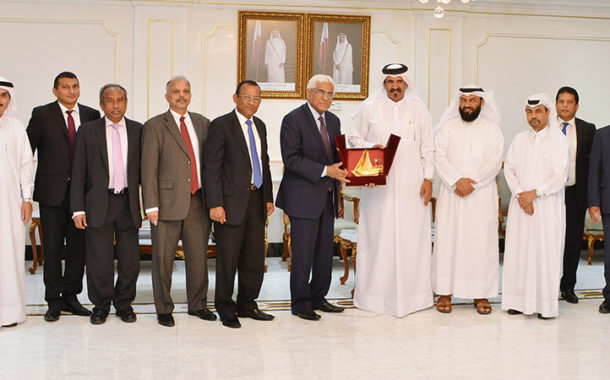Qatar Chamber Discusses Cooperation with Sri Lankan Trade Delegation