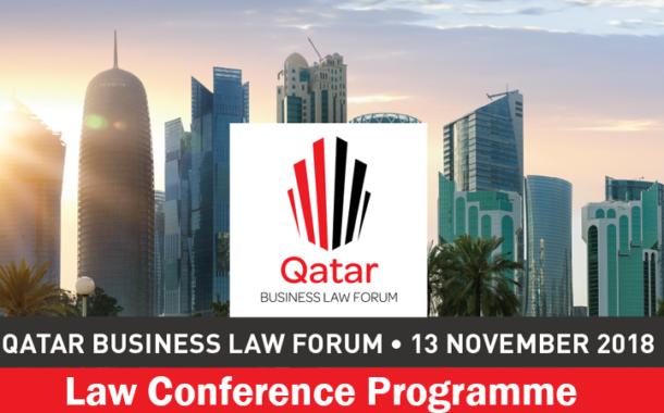 QATAR BUSINESS LAW FORUM  - 13 NOVEMBER 2018