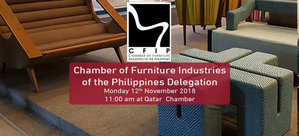 Chamber of Furniture Industries of the Philippines Delegation Monday 12 November 2018