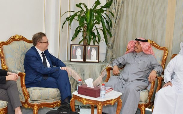 Qatar Chamber reviews enhancing cooperation with Italy and India