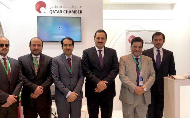 Qatar Chamber promotes Qatar industries at Arabia Moscow 2019