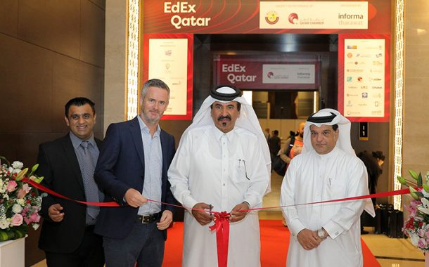 Bin Twar opens EdEx Qatar expo