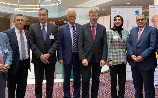 QC takes part in Arab-German Health Forum