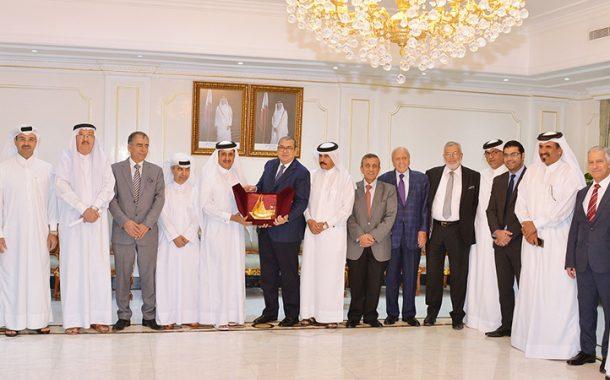 Qatar, Jordan Chambers review enhancing cooperation relations