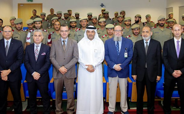 QICCA held a seminar at Ahmed bin Mohamed Military College