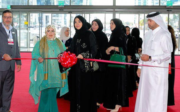 Al Ahmadani opens International Perfumes and Cosmetics Fair