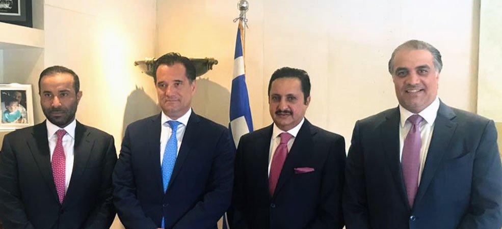 رئيس الغرفة يلتقي وزير التنمية والاستثمار اليوناني