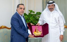 Qatar Chamber hosts a meeting with Governor of Sindh