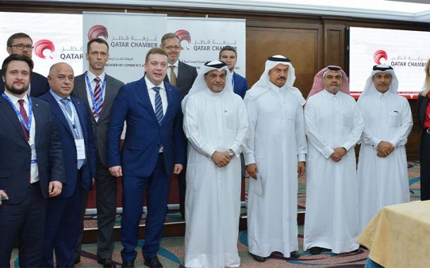 Qatar Chamber reviews cooperation ties with Russia