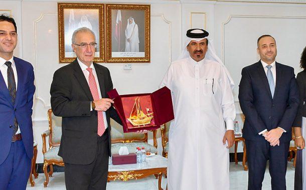 Qatar Chamber, Brazil delegation discuss strengthening co-operation