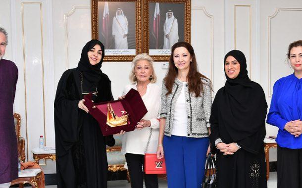 Qatar Chamber receives Spain's Princess Beatrice