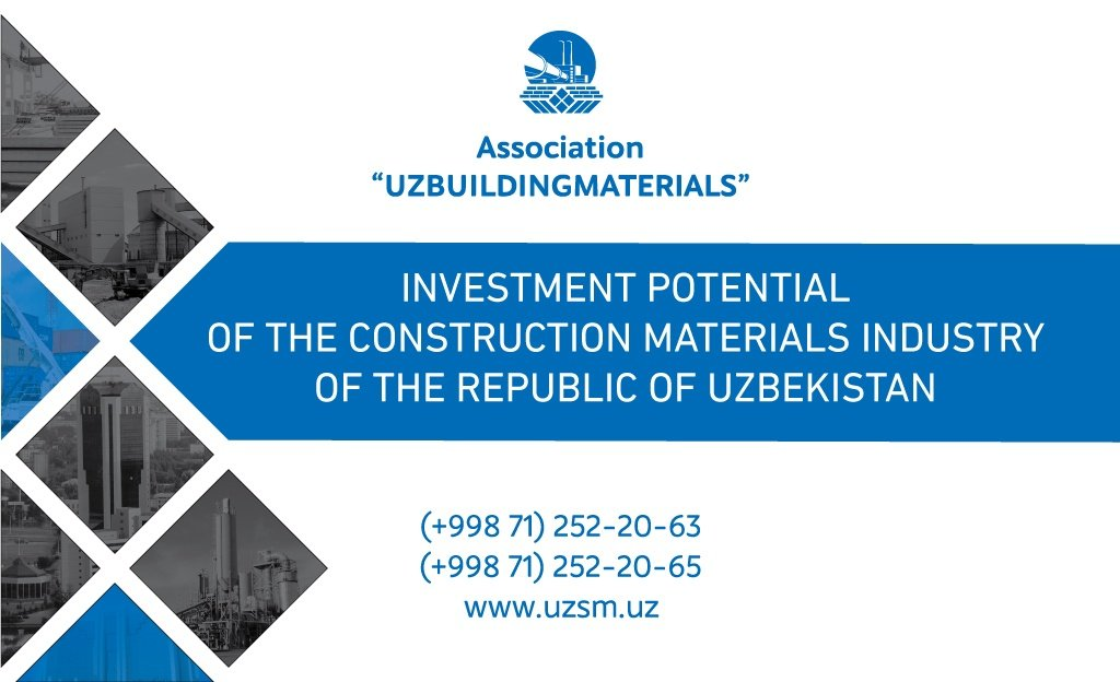 Investment Potential of The Construction Materials Industry of The Republic of Uzbekistan