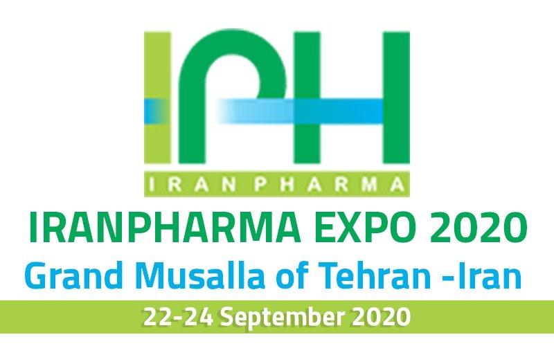 IRANPHARMA EXPO 2020 Grand Musalla of Tehran -Iran