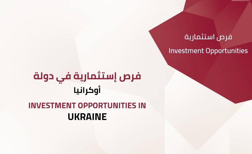 Investment opportunities in UKRAINE