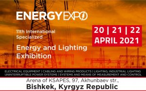 11th International Exhibition for Energy & Lighting @ Arena of KSAPES, 97, Akhunbaev str.,
