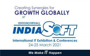 معرض ومؤتمر INDIASOFT 2021 الحادي والعشرون – نيو دلهي @ NEW DELHI
