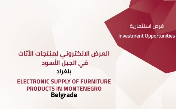 Electronic supply of furniture products in Montenegro - Belgrade