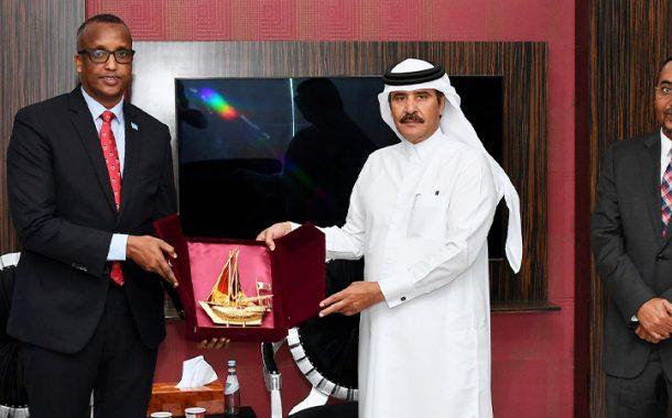 Qatar market greatly welcomes Somali products, says Al-athba