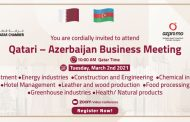 Qatari – Azerbaijan Business Meeting