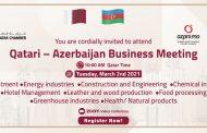 Qatari – Azerbaijan Business Meeting