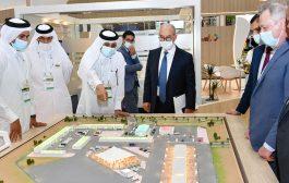 جولة لرئيس الغرفة ووزير الاقتصاد التونسي في معرض قطر الزراعي