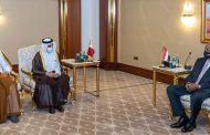 البرهان يدعو رجال الاعمال القطريين الى الاستثمار في السودان