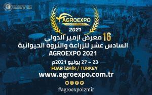 معرض ازمير الدولي السادس عشر للزراعة والثروة الحيوانية AGROEXPO 2021 @ ازمير