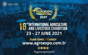 Agroexpo 2021 - International Agriculture & Livestock Exhibition @ Fuar Izmir - Gaziemir
