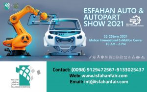 17th International Exhibition of Automotive Spare Parts and Related Industries (ISFAHAN AUTO PART 2021) @ Isfahan International Exhibition Center (IIEC)