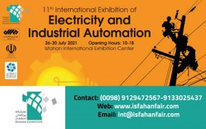 11th International Exhibition of Electricity (ISFAHAN POWER 2021) @ Isfahan International Exhibition Center (IIEC)