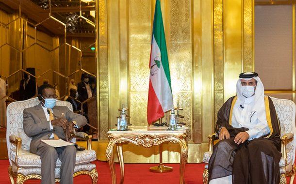 رئيس غينيا الاستوائية يدعو رجال الاعمال القطريين للاستثمار في بلاده