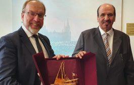 بن طوار يدعو الشركات الأوكرانية للاستثمار في قطر